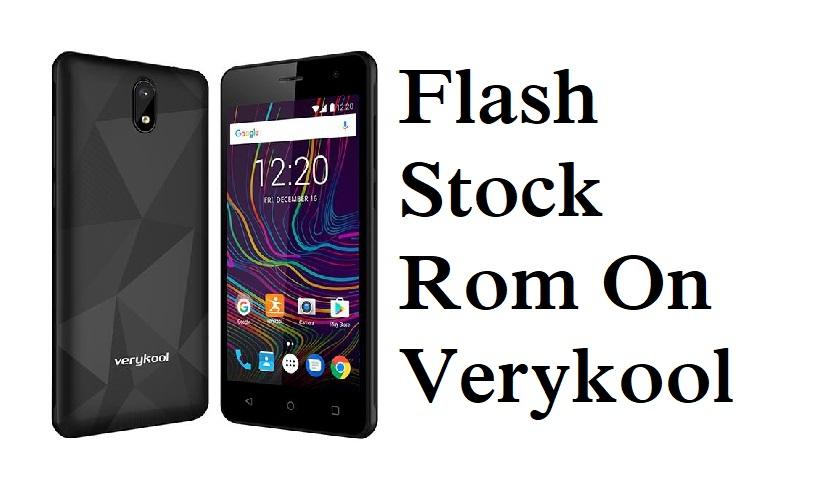 Flash Stock Rom on Verykool s5028 Bolt