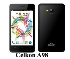 Flash Stock Rom on Celkon A98