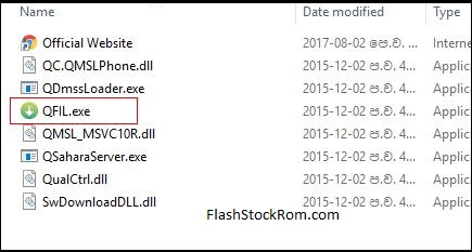 how to use Qualcomm Flash Image Tool - Flash Stock Rom