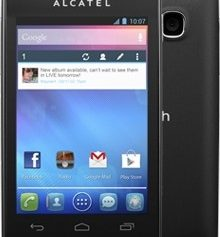 How to Flash Stock Rom on Alcatel one touch 4030d