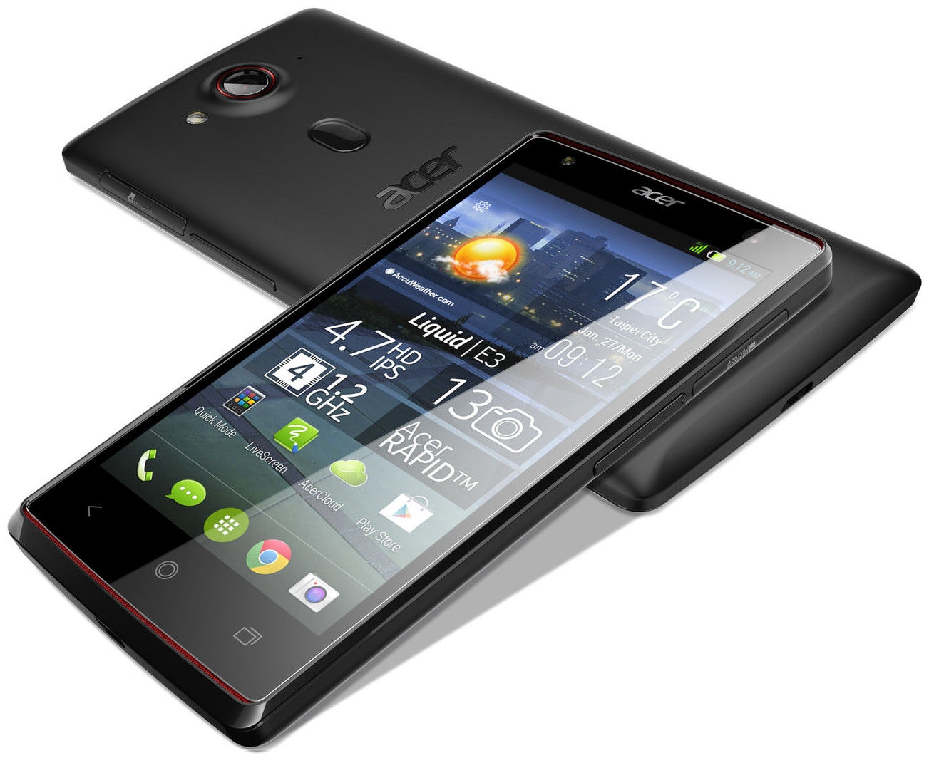 How to Flash Stock Rom on Acer Liquid E3 Duo Plus