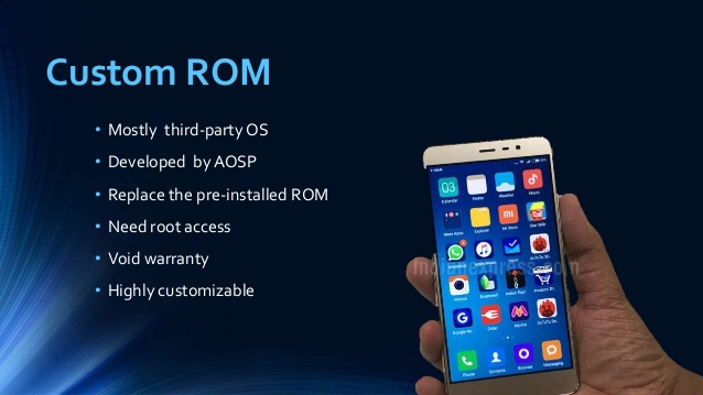 What Is Custom ROM