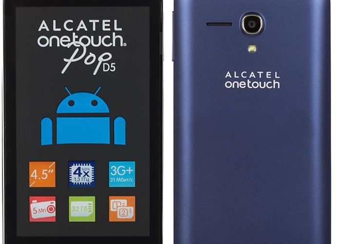 How to Flash Stock Rom on Alcatel One Touch Pop d5 5038d