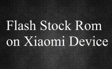 How to flash using Xiaomi MI Flash Tool