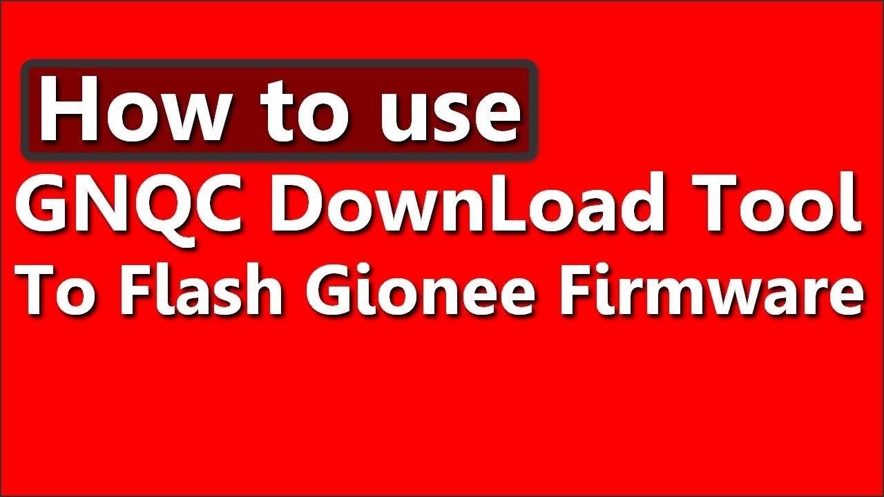 flash Qualcomm Smart device using GNQC download tool